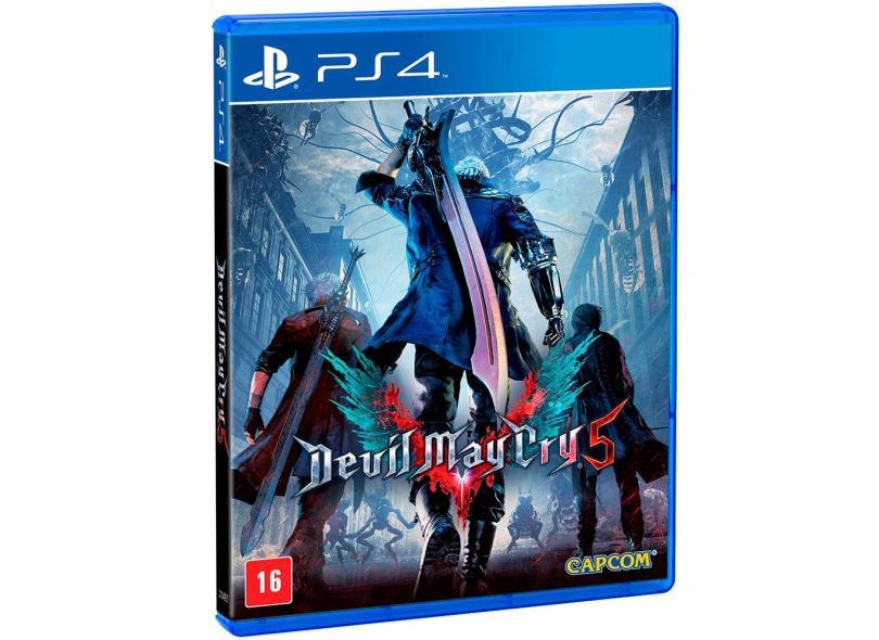 Jogo Devil May Cry 5 PS4 Capcom