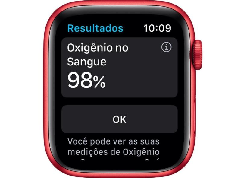 Smartwatch Apple Watch Series 6 Vermelho 44.0 mm