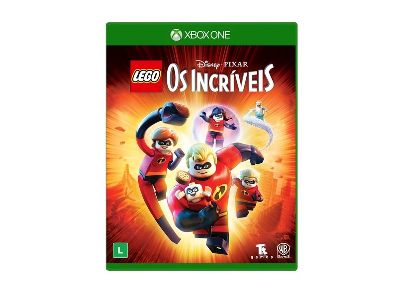 Jogo Lego Os Incríveis Xbox One Warner Bros