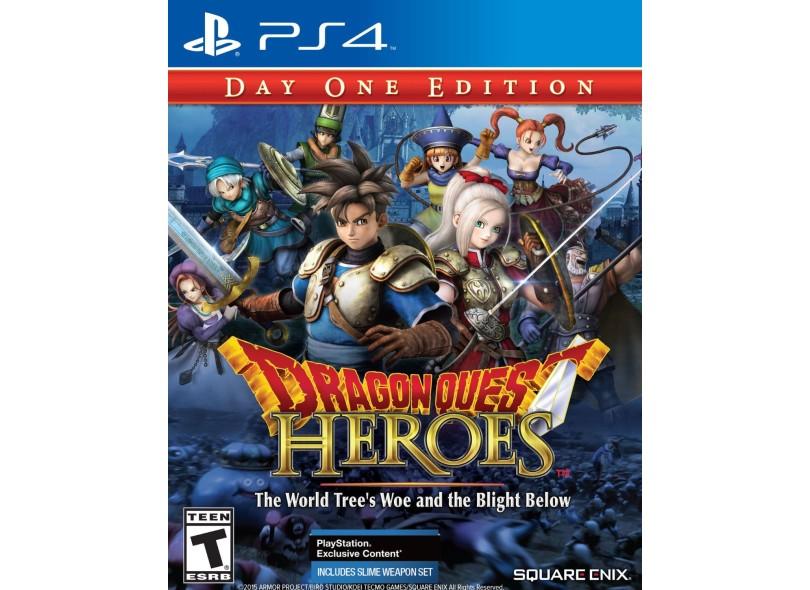 Jogo Dragon Quest Heroes PS4 Square Enix