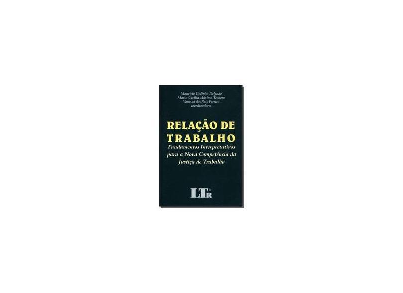 Relação de Trabalho - Mauricio Delgado - 9788536106977