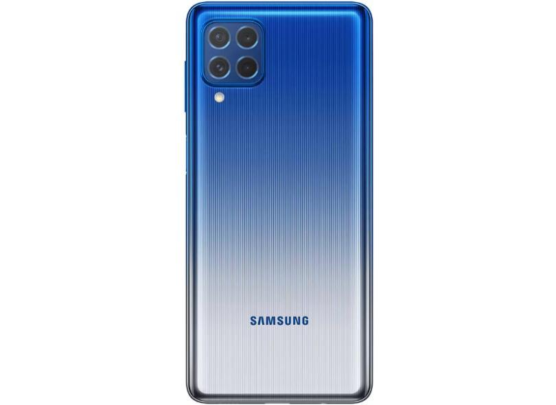 Smartphone Samsung Galaxy M62 SM-M625F 8 GB 128GB Câmera Quádrupla 2 Chips Android 11
