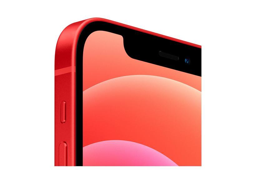 Smartphone Apple iPhone 12 Vermelho 128GB Câmera Dupla iOS 14