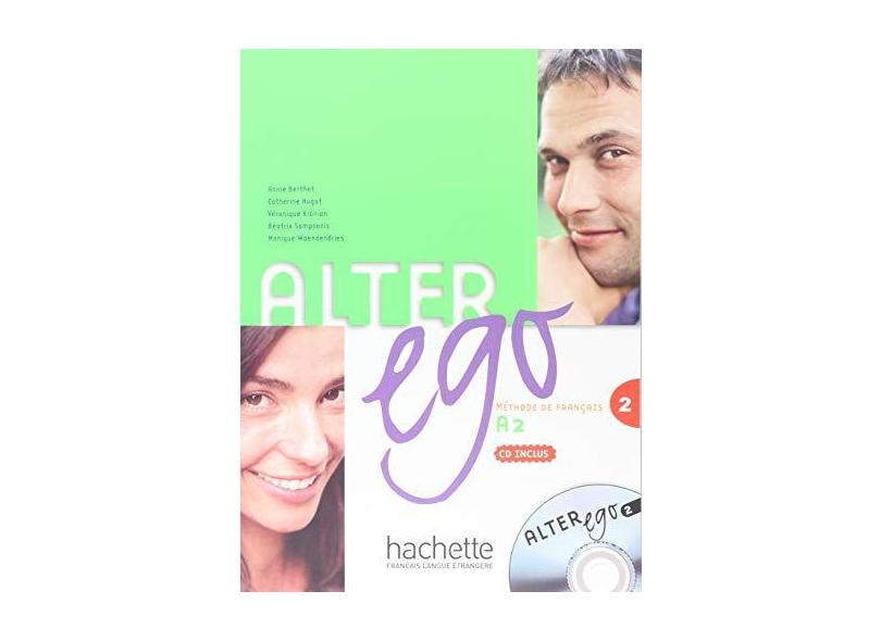 Alter Ego Level 2 Textbook with CD - Annie Berthet - 9782011554420
