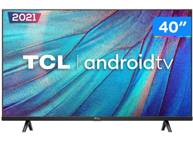 """Smart TV TV LED 40 """" TCL Full HDR 40S615 2 HDMI"""