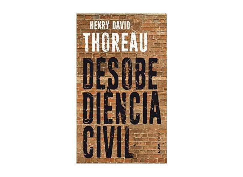 A Desobediencia Civil - Thoreau, Henry David - 9788525406149