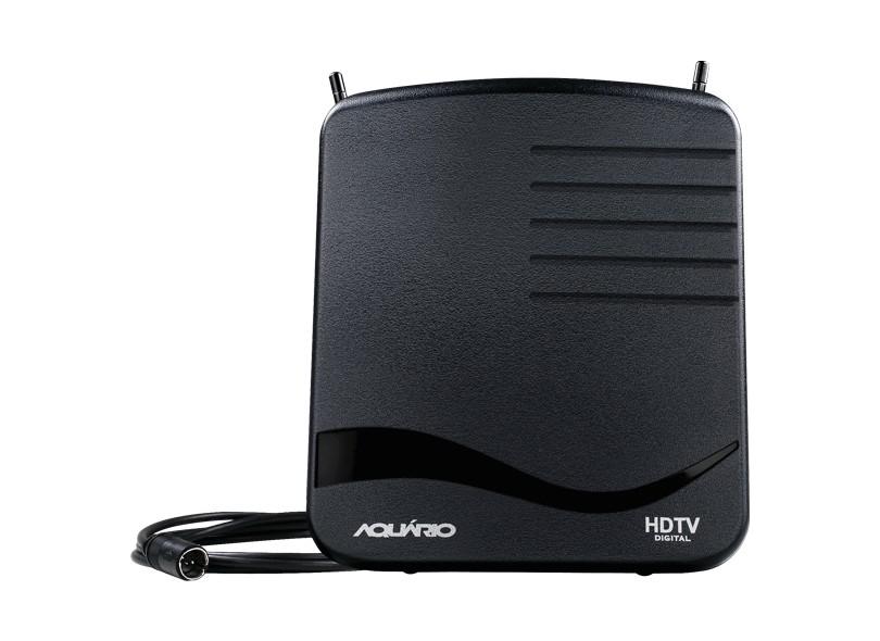 Antena de TV Rádio Interna Aquário DTV-1100