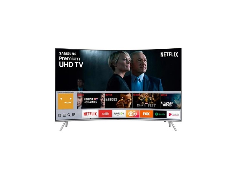 "Smart TV TV LED 55 "" Samsung 4K UN55MU7500"