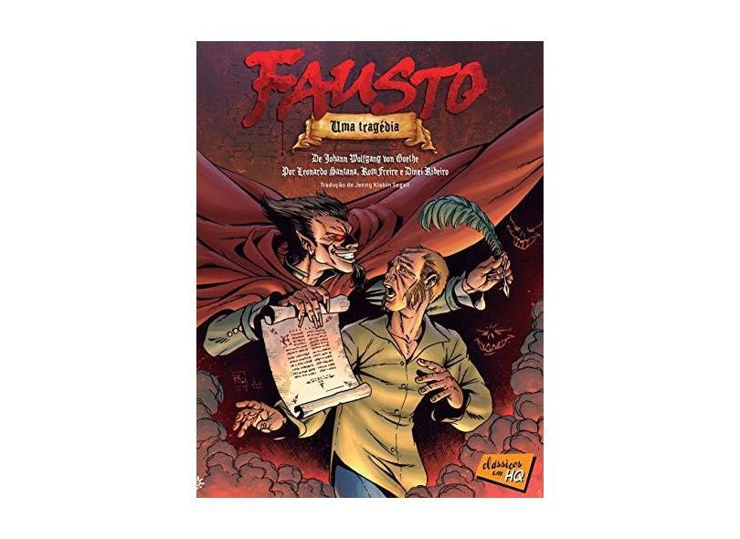 Fausto em Quadrinhos - Johann W. Von Goethe - 9788575963159