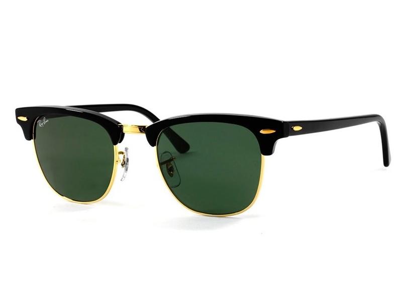 Óculos de Sol Unissex Ray Ban Clubmaster RB3016