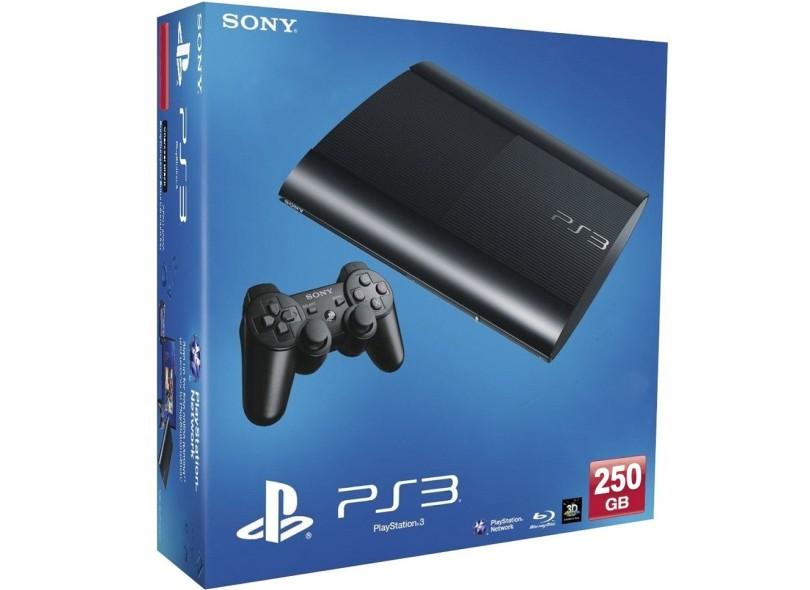 Console Playstation 3 Ultra Slim 250 GB Sony