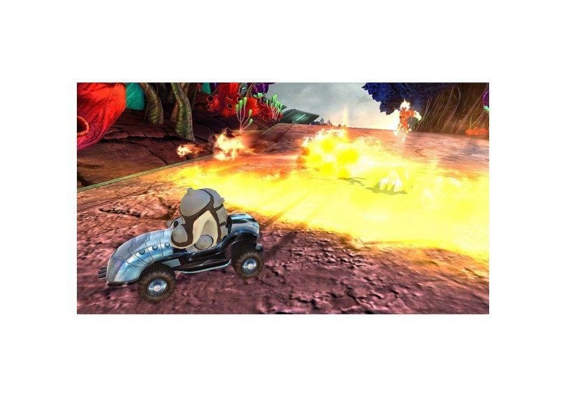 Jogo Ben 10 Galactic Racing D3 Publisher Xbox 360