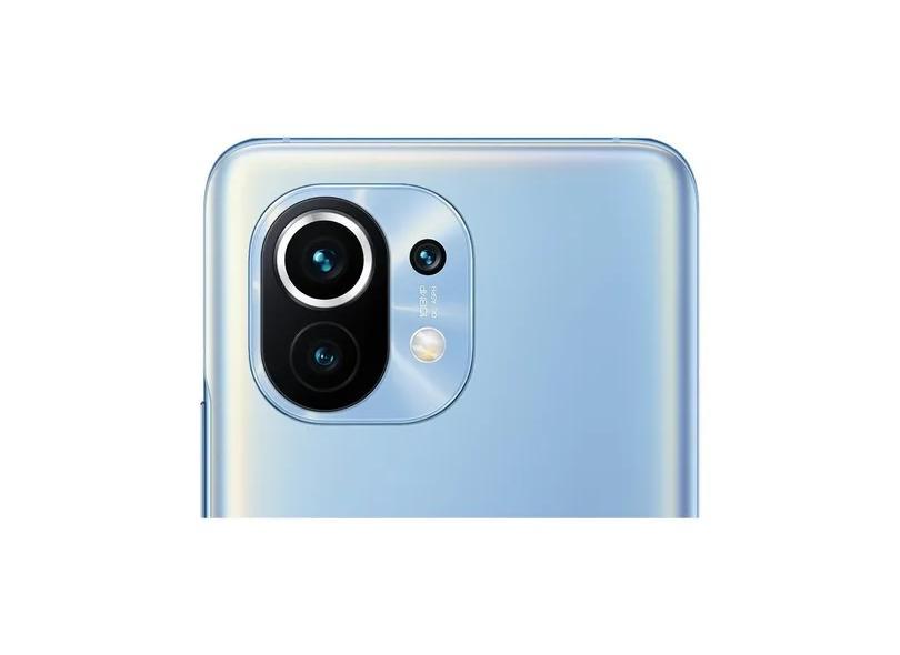 Smartphone Xiaomi Mi 11 256GB Câmera Tripla 2 Chips Android 11