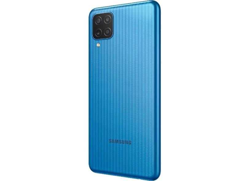 Smartphone Samsung Galaxy M12 64GB Câmera Quádrupla 2 Chips Android 11