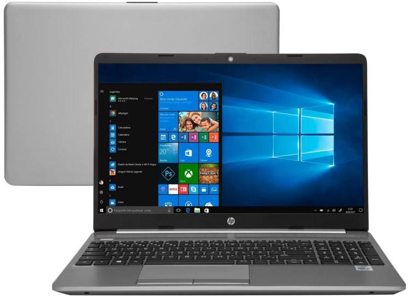"""Notebook HP Intel Core i5 1035G1 10ª Geração 8.0 GB de RAM 256.0 GB 15.6 """" Windows 10 250 G8 / 343K3LA"""
