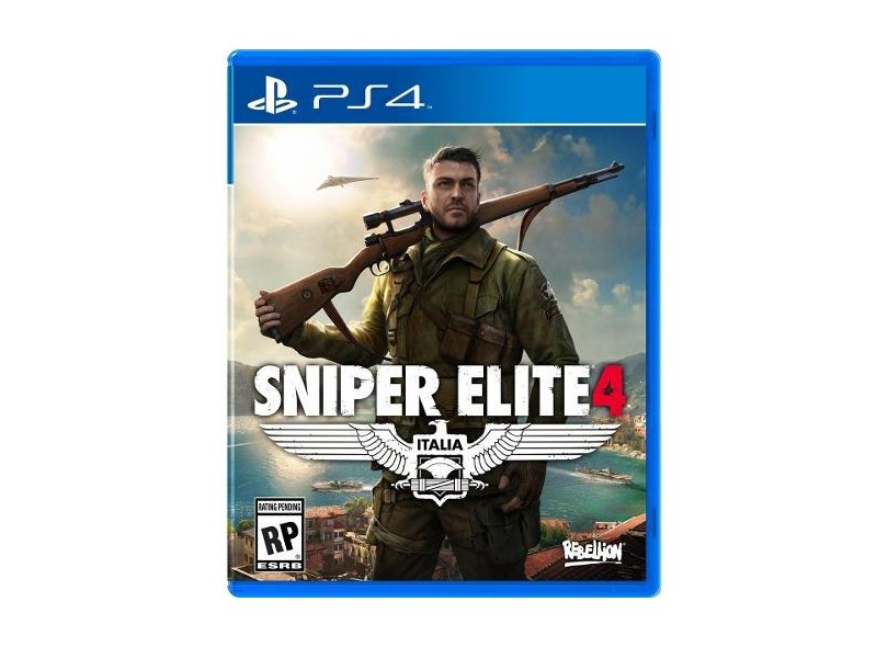 Jogo Sniper Elite 4 PS4 Rebellion
