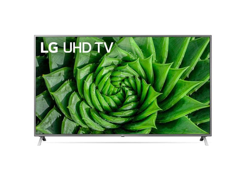 "Smart TV TV LED 82 "" LG ThinQ AI 4K HDR 82UN8000PSB 2 HDMI"