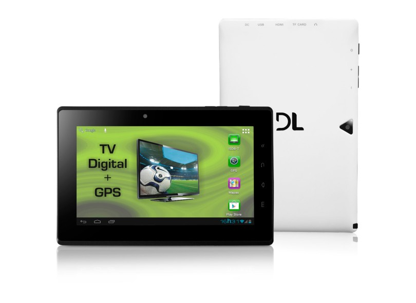 """Tablet DL Smart 7"""" 4 GB Wi-Fi Android 4.0 (Ice Cream Sandwich) DR-T71"""
