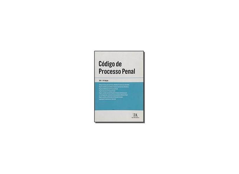 Código de Processo Penal - Vários Autores - 9789724046938