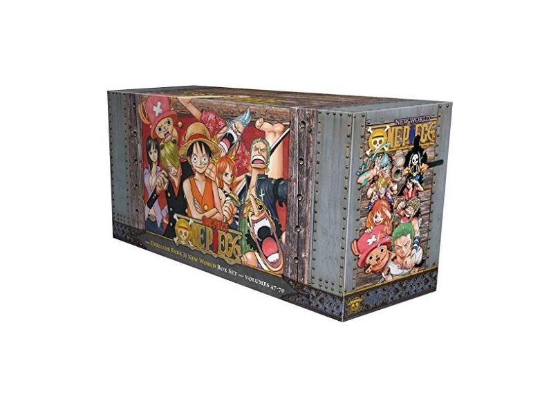 One Piece Box Set 3: Thriller Bark to New World, Volumes 47-70 - Eiichiro Oda - 9781421590523