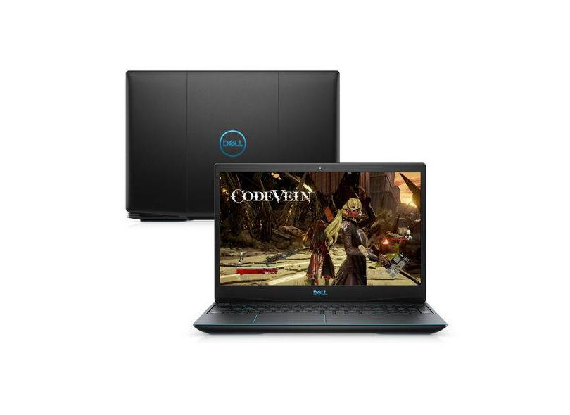 "Notebook Dell G3 Intel Core i5 9300H 9ª Geração 8 GB de RAM 1024 GB 15.6 "" Full GeForce GTX 1050 Windows 10 G3-3590-M10"