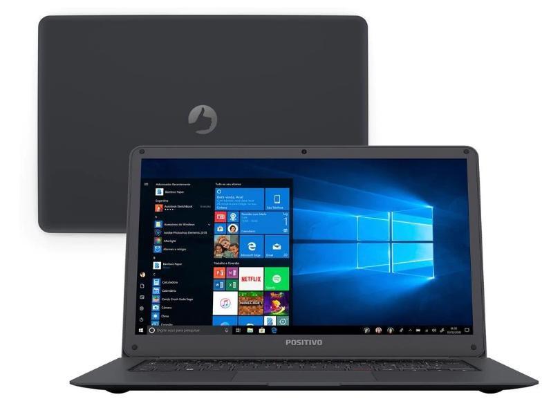 "Notebook Positivo Intel Atom x5 Z8350 2GB de RAM eMMC 32 GB 14"" Windows 10 Q232"