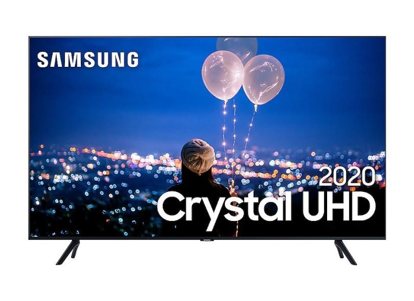"Smart TV TV LED 50"" Samsung Série 8 4K UN50TU8000GXZD 3 HDMI"