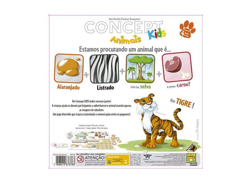 Jogo Concept Kids Galápagos