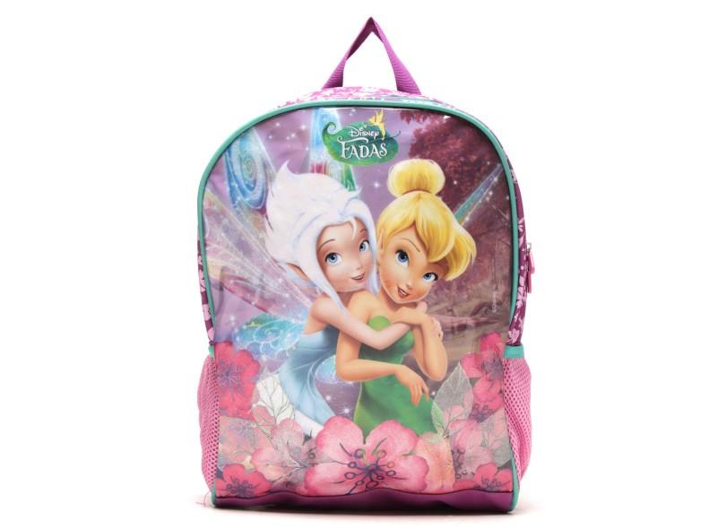 Mochila Escolar Dermiwil Disney Fadas G 37070