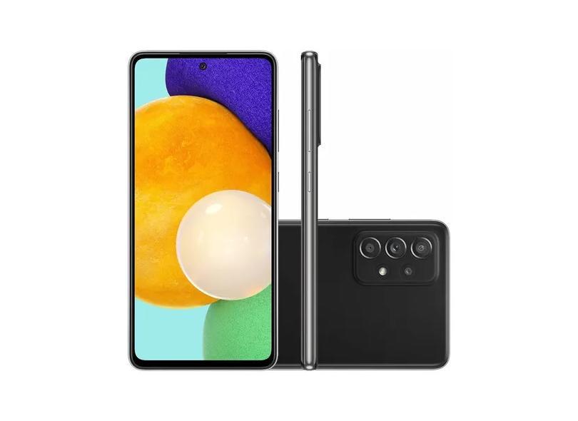 Smartphone Samsung Galaxy A52 5G SM-A526B 128GB Câmera Quádrupla 2 Chips Android 11