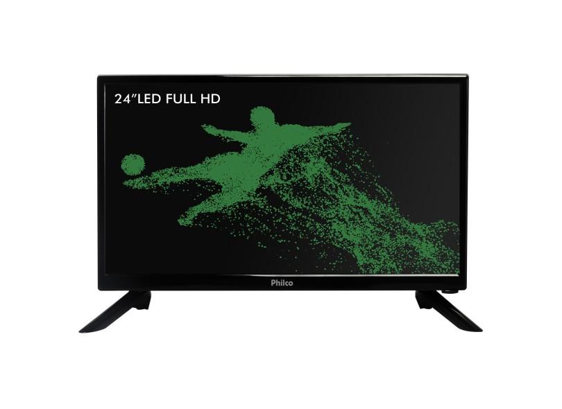 "TV LED 24"" Philco PTV24N92D 1 HDMI"