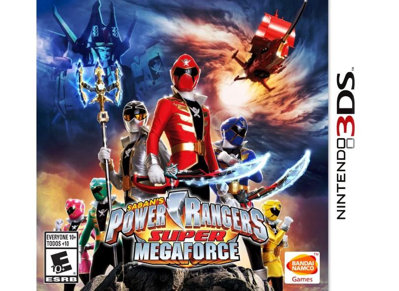 Jogo Power Rangers Super MegaForce Bandai Namco Nintendo 3DS