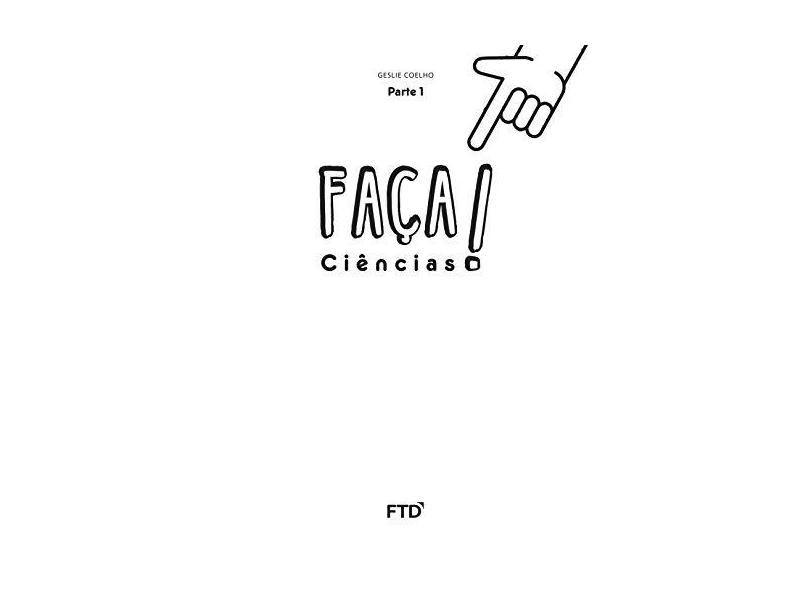 CJ- Faça Ciências - 2º Ano - Geslie Coelho; - 7898592135209