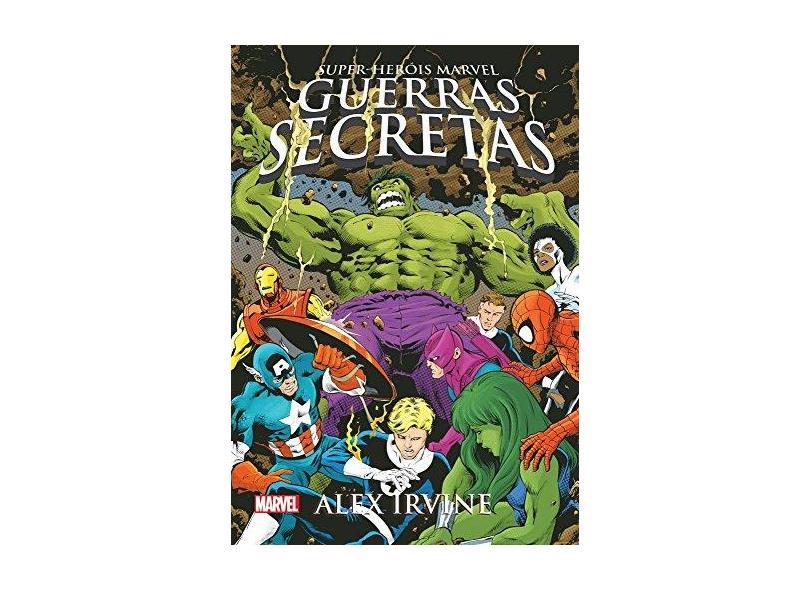 Guerras Secretas - Alex Irvine - 9788542807134