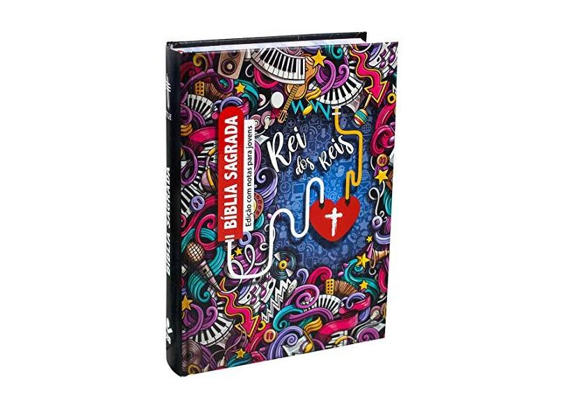Bíblia Sagrada Edição Com Notas Para Jovens - Sociedade Bíblica Do Brasil - 7899938409718