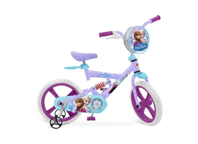 Bicicleta Bandeirante Aro 14 X-Bike Frozen