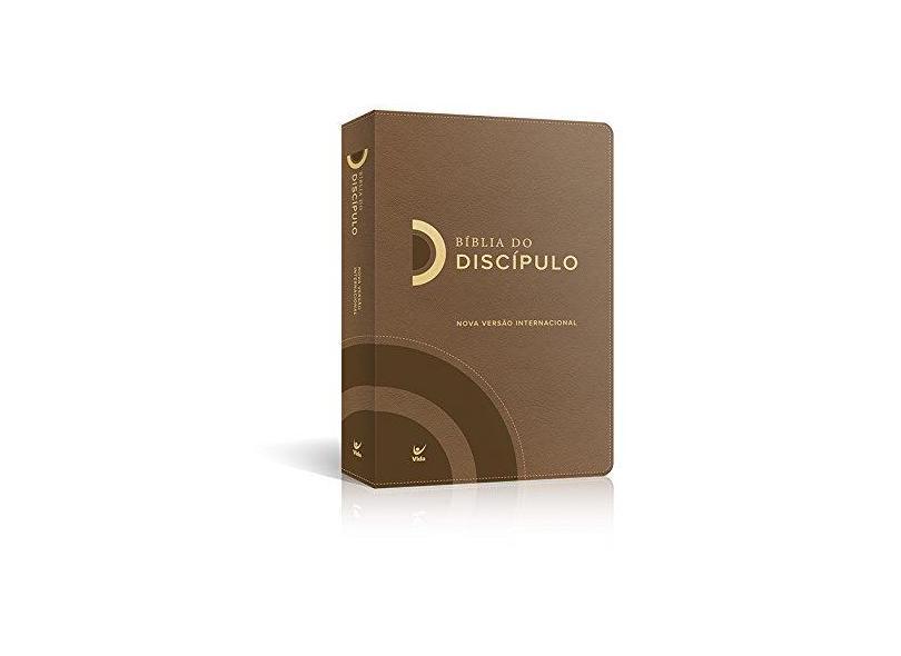 Bíblia do Discípulo Nvi Capa Luxo Marrom - Vários Autores - 9788000003955