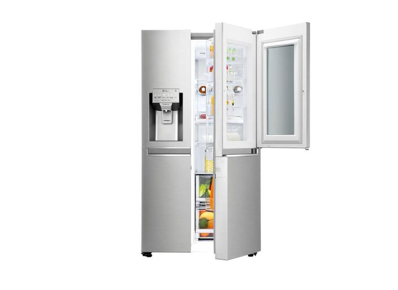 Geladeira LG LG ThinQ Frost Free Side by Side 601 l Inox GC-X247CSB