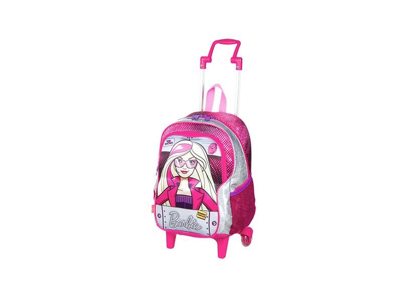 Mochila com Rodinhas Escolar Sestini Barbie Barbie E As Agentes Secretas G 64458