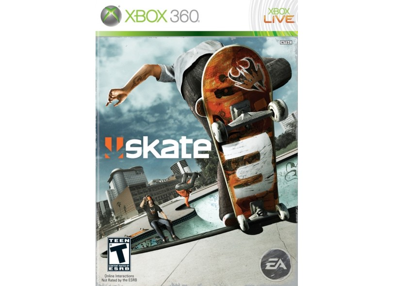 Jogo Skate 3 EA Xbox 360