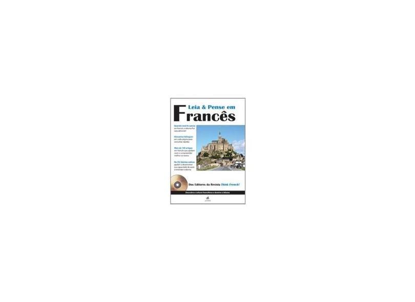 Leia e Pense em Francês - Alta Books - 9788576085942