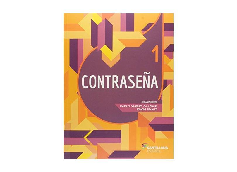 Contraseña 1 - Libro Del Alumno + Multirom + Libro Digital Interactivo + App - Marília Vasques Callegari; Simone Rinaldi - 9788516101480