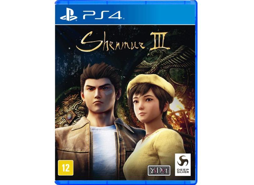 Jogo Shenmue III PS4 Deep Silver