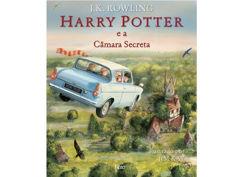 Harry Potter e A Câmara Secreta - Edição Ilustrada - Rowling, J.K. - 9788532530554