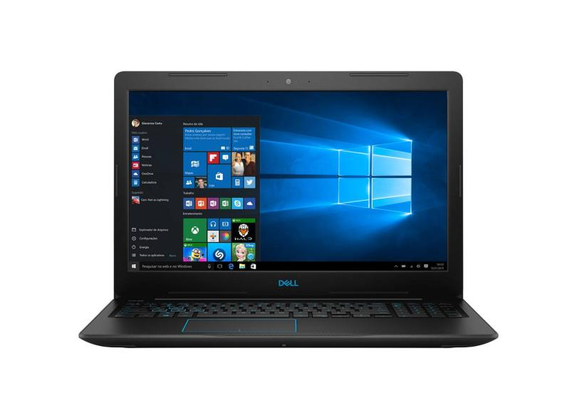 """Notebook Dell G3 Intel Core i7 8750H 8ª Geração 8 GB de RAM 1024 GB 15.6 """" GeForce GTX 1050 Ti Windows 10 3579-A20"""