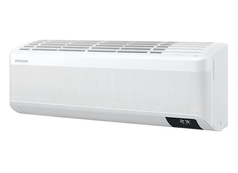 Ar-Condicionado Split Hi Wall Samsung Wind Free 12000 BTUs Inverter Controle Remoto Quente/Frio AR12TSEABWKNAZ