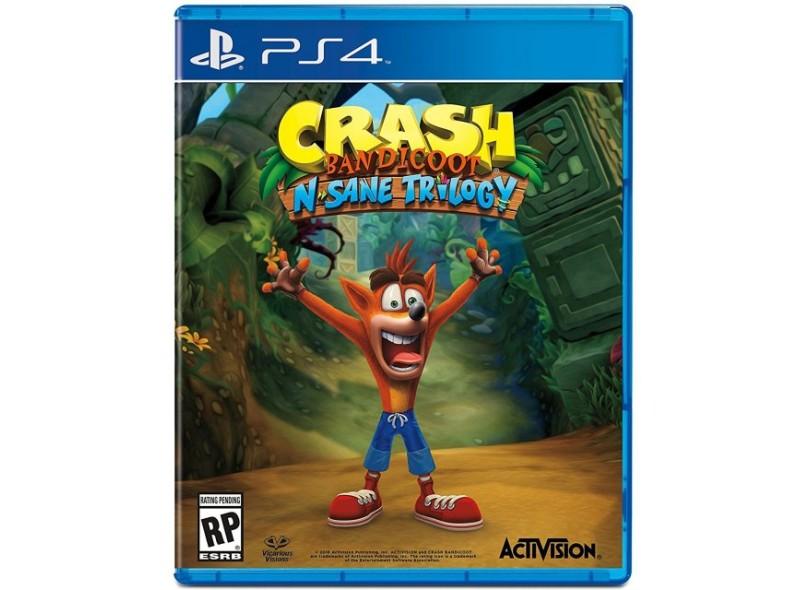 Jogo Crash Bandicoot PS4 Activision