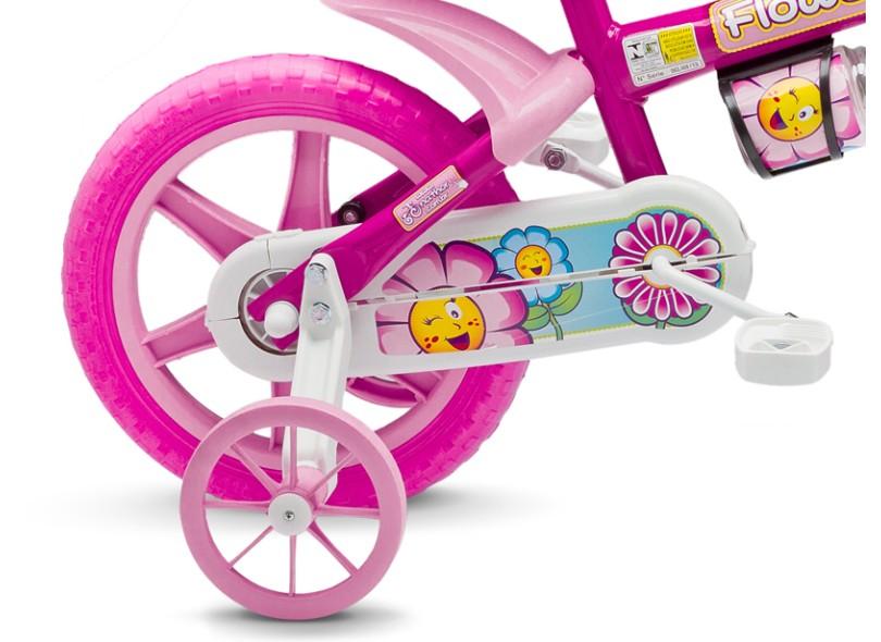 Bicicleta Nathor Aro 12 Flower Girl