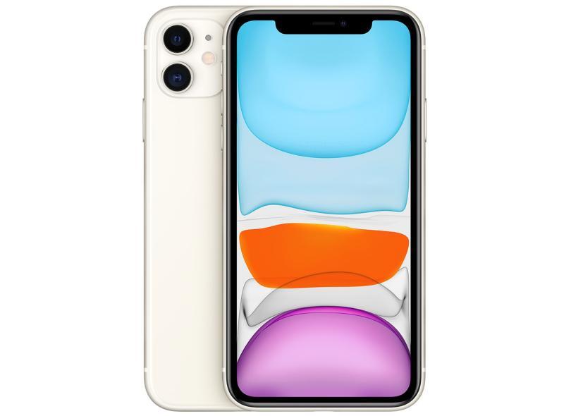 Smartphone Apple iPhone 11 256GB Câmera Dupla Apple A13 Bionic iOS 13