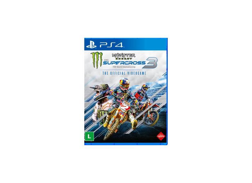 Jogo Monster Energy - SuperCross 3 PS4 Milestone